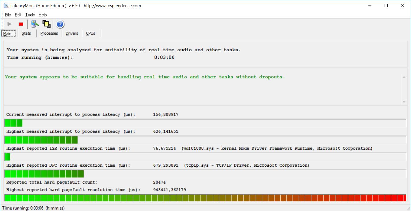 Acer Aspire VX5-591G-D0DD latency 600