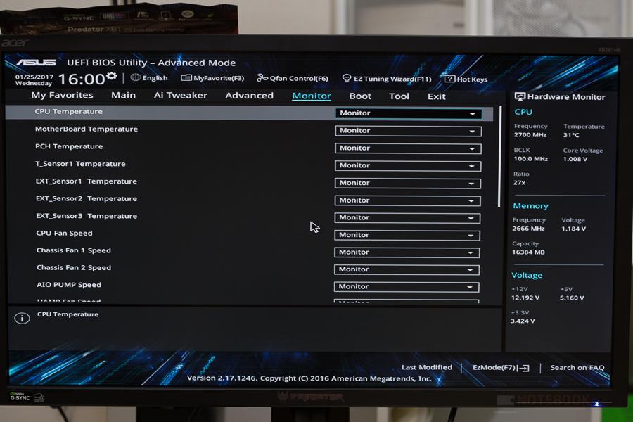 Asus Prime Z270-A-27