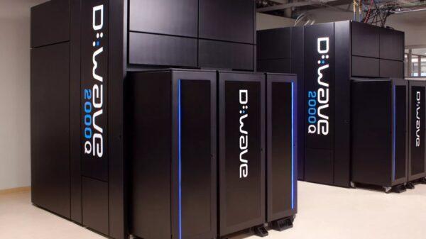 D Wave quantum computer 600