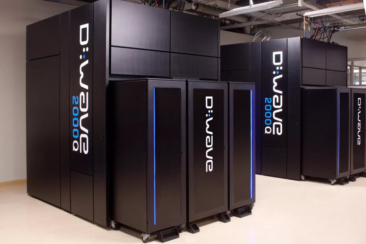 D-Wave quantum computer 600