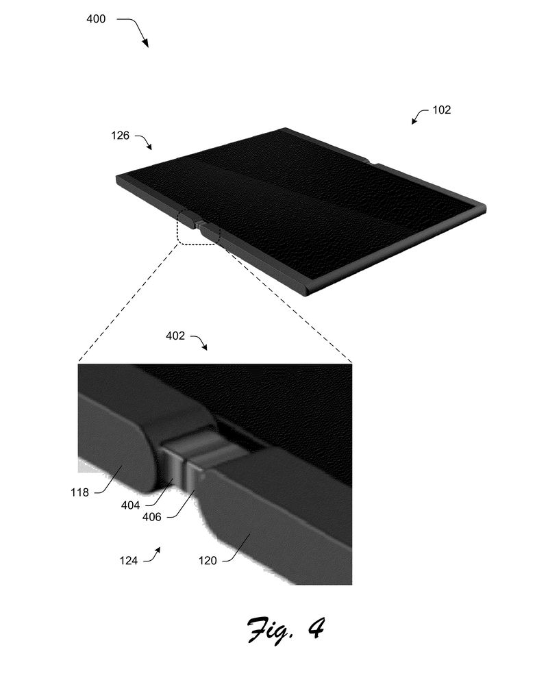 Microsoft patent reveals foldable phone that turns into a tablet 600 03