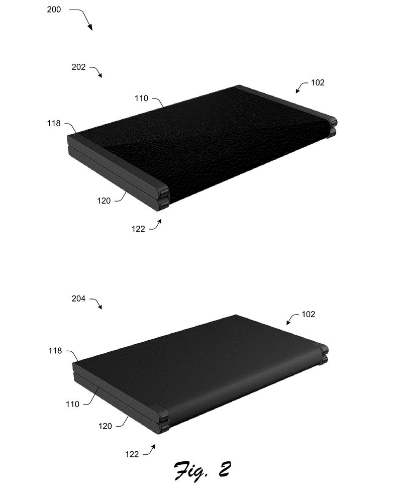 Microsoft patent reveals foldable phone that turns into a tablet 600 04