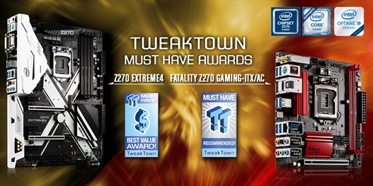 ASRock-TweakTown-MUST HAVE award