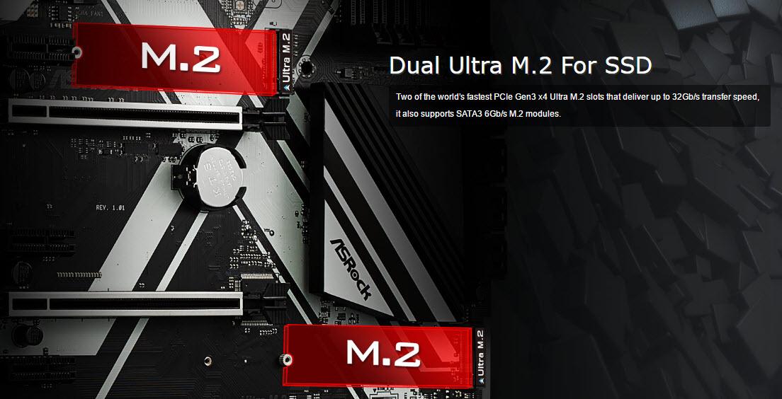 ASRock Z270 Extreme4-Dual m2