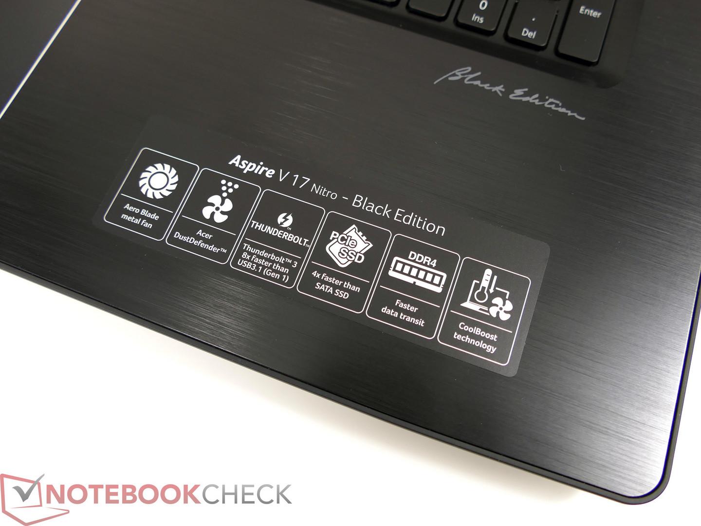 Acer Aspire V17 Nitro BE VN7-793G Notebook (GTX 1060 Black Edition) Review 600 14