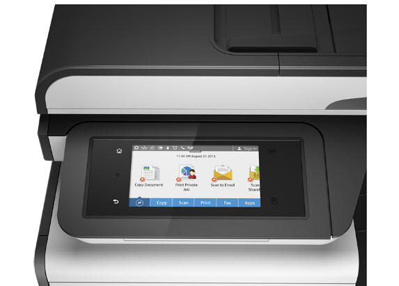 HP PageWide Pro 477dw-panel