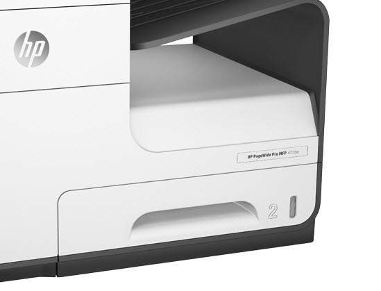 HP PageWide Pro 477dw-tray
