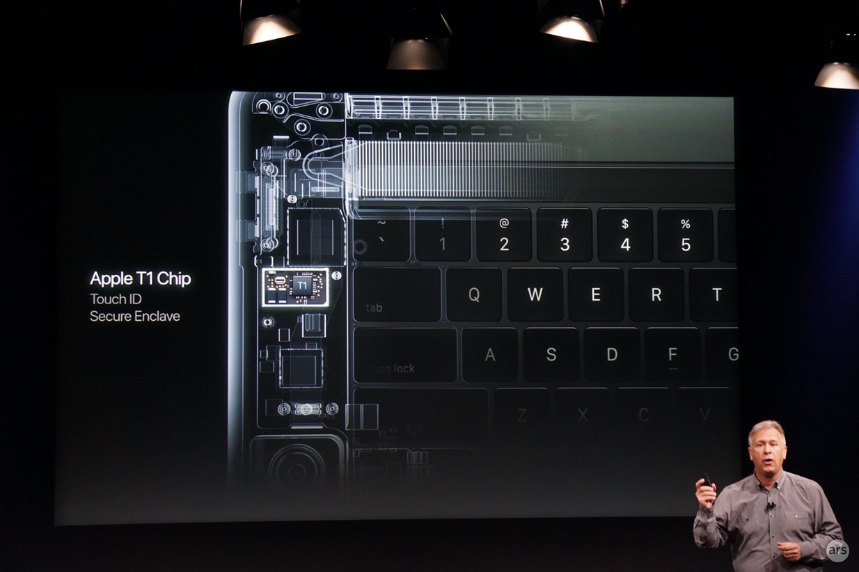 apple T1 chip in touch bar 600
