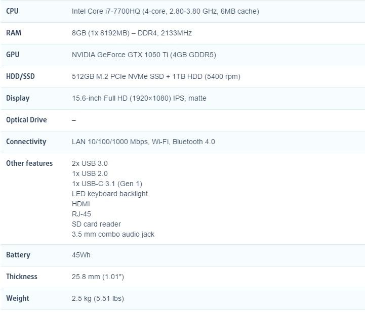 review Lenovo Legion Y520 (GTX 1050 Ti) 600 02