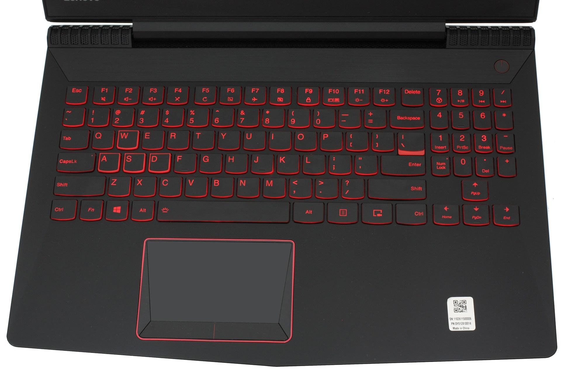 review Lenovo Legion Y520 (GTX 1050 Ti) 600 10