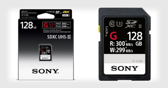 sony new SF-G series 600 01
