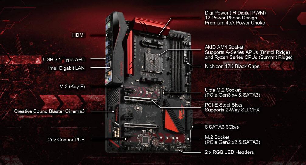 ASRock X370 Gaming K4-0