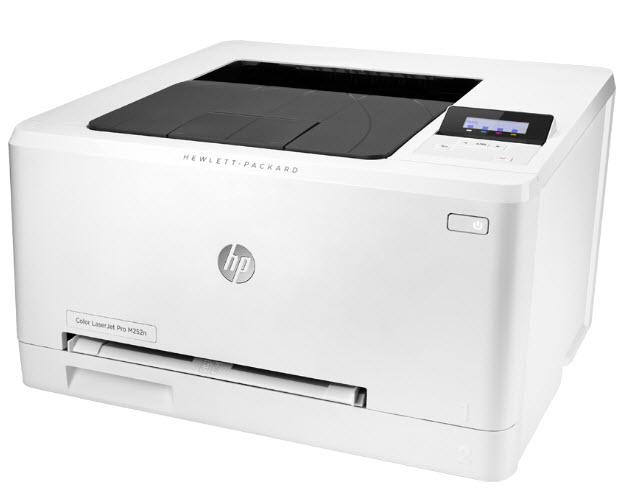 HP LaserJet Pro 200 Color M252n-4