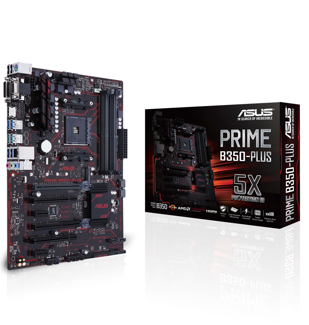 PRIME B350-PLUS Left 3D _GB