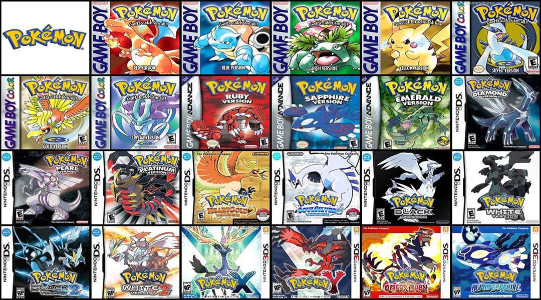 Pokemon-Games