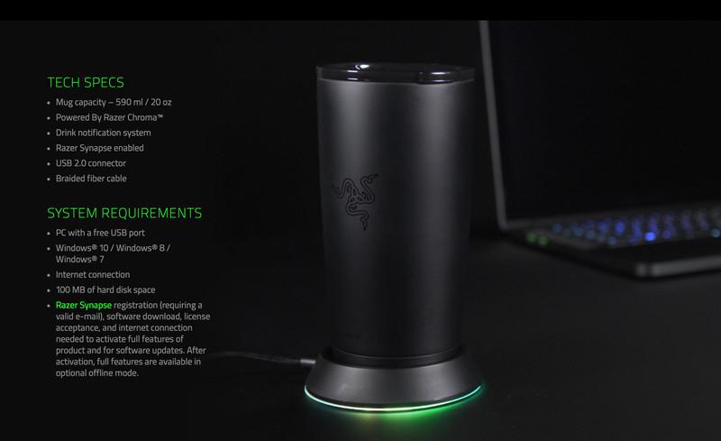 Razer Chroma Mug Holder 600 02