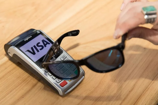Visa prototype of contactless payment sunglasses 600