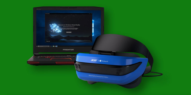 เตรียมนำแว่น Mixed Reality มาใส่ใน Xbox One และ Project Scorpio ในปี 2018 นี้