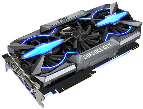ZOTAC GeForce GTX 1080 Ti PGF Edition 600 01