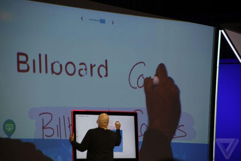 google giant 4K digital whiteboard 600 05