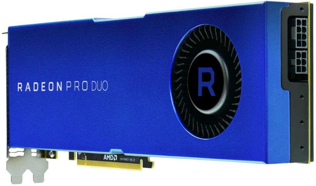 AMD Radeon Pro Duo 600