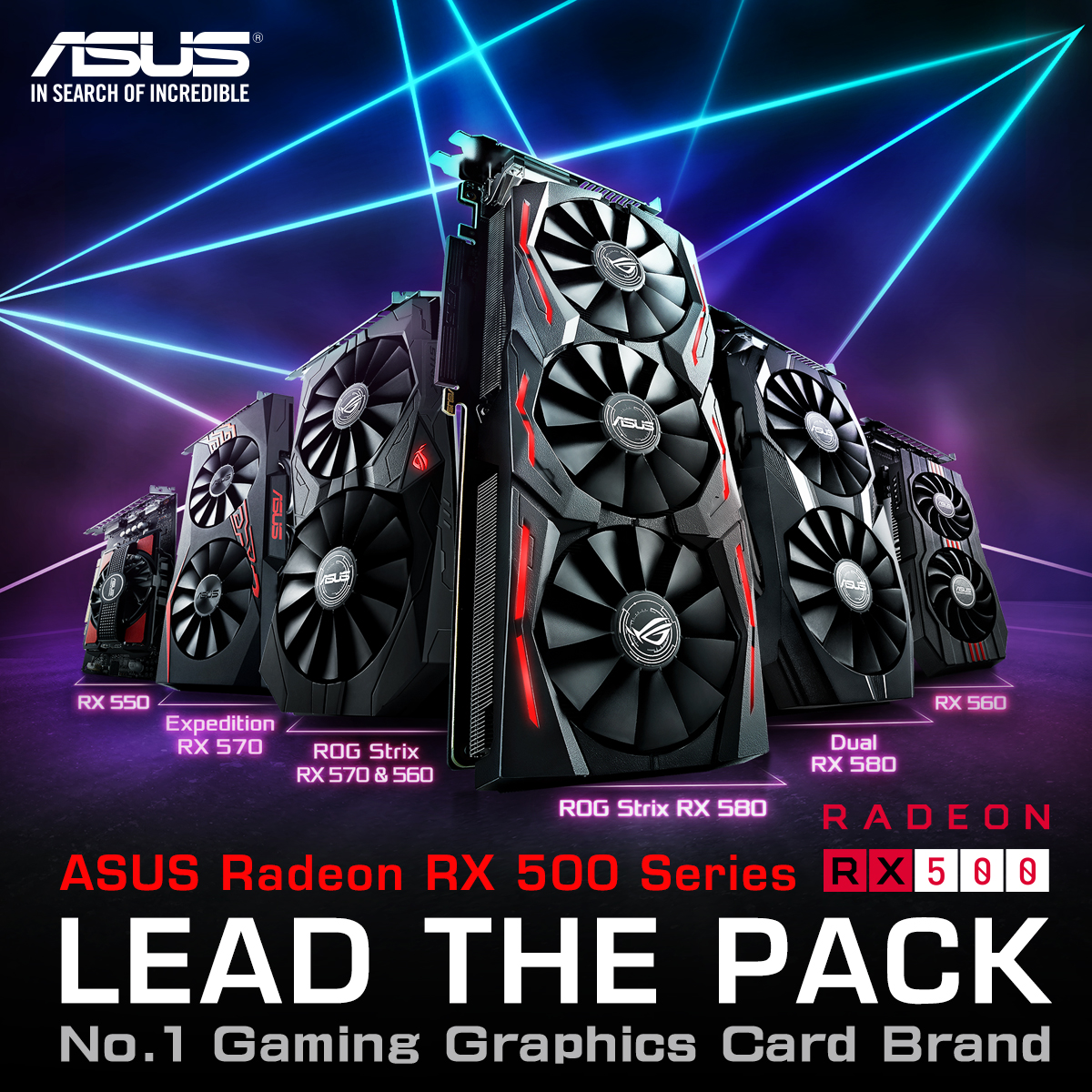 ASUS Radeon RX 500 Series
