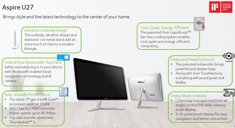 Acer Aspire U27 600 01