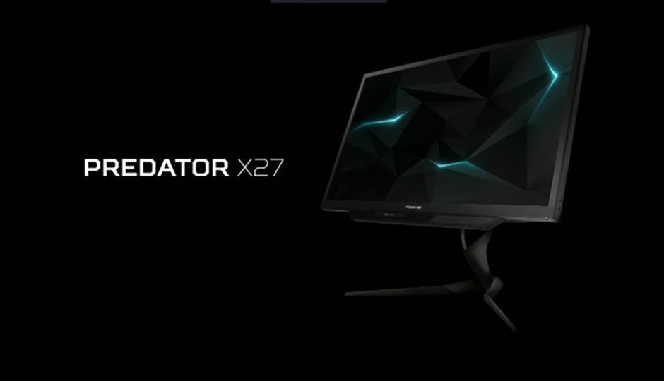 Acer Predator X27 monitor 600 01