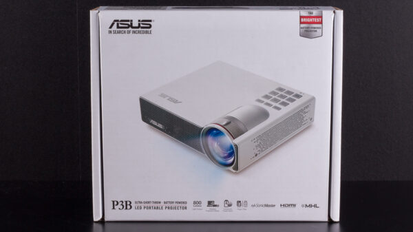 Asus P3B LED Portable Projector 17