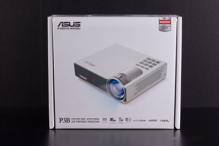 Asus P3B LED Portable Projector-17