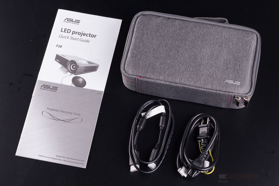 Asus P3B LED Portable Projector-20