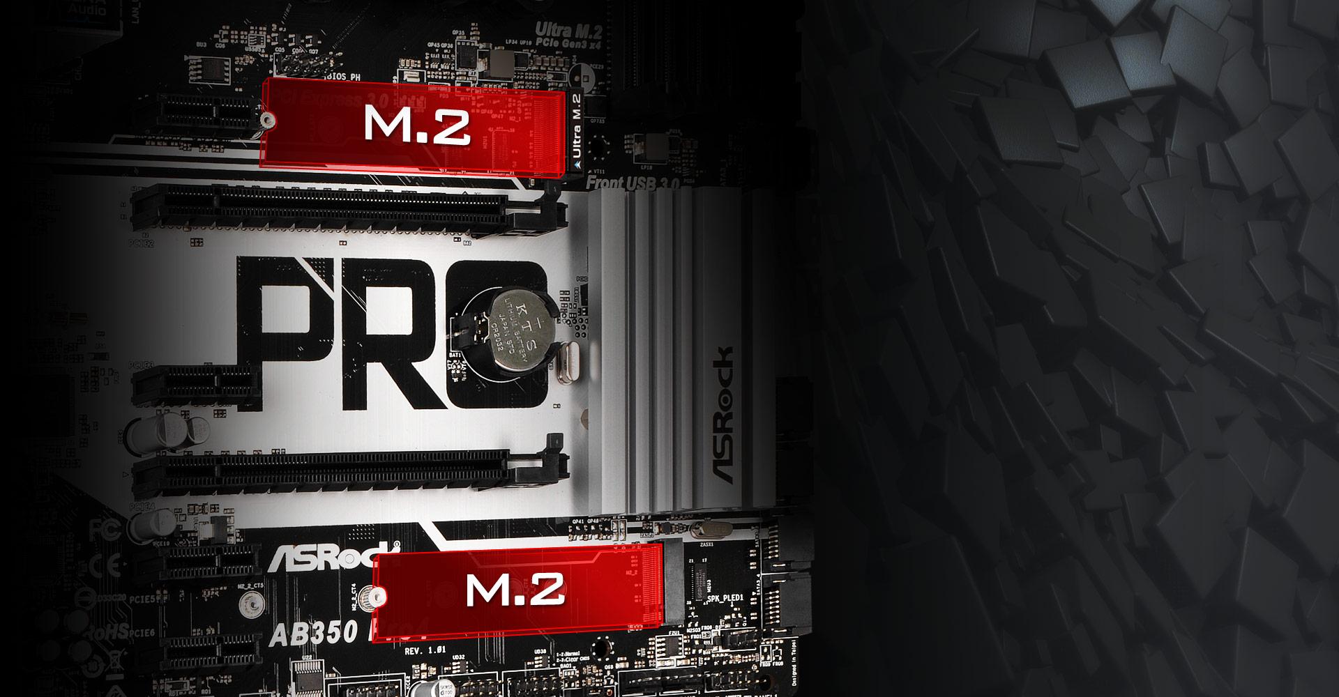 DualM2-SSD-AB350 Pro4
