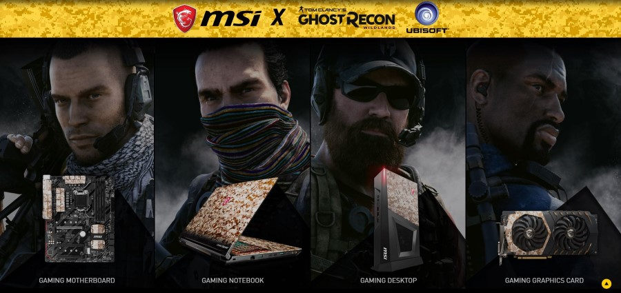 MSI X Ghost Recon