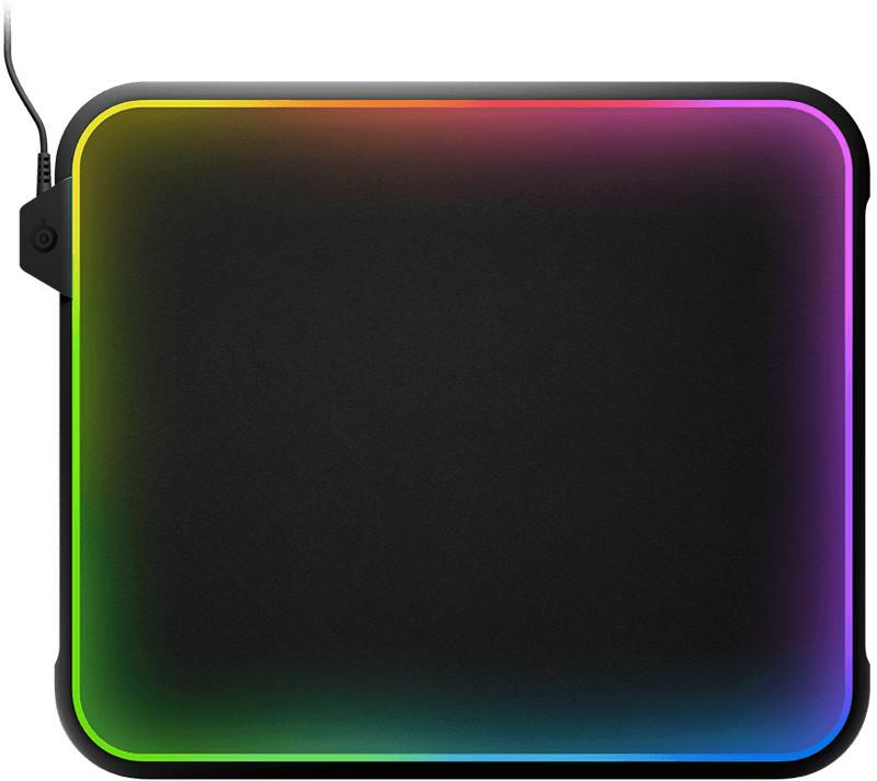 QcK Prism Mouse Mat - 360º RGB Illumination 600 02