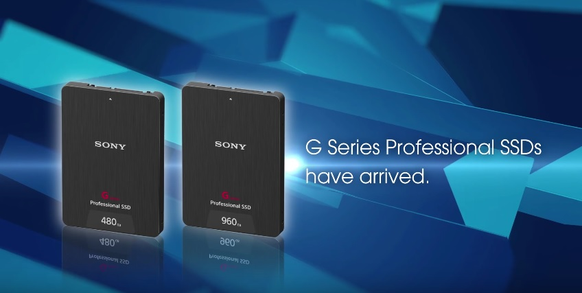 Sony G series Pro SSD 600 01