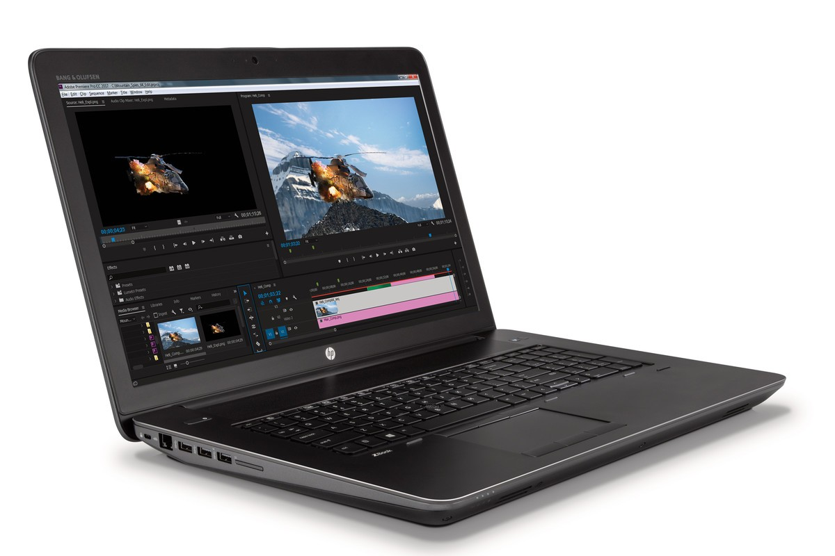 The ZBook 17 600
