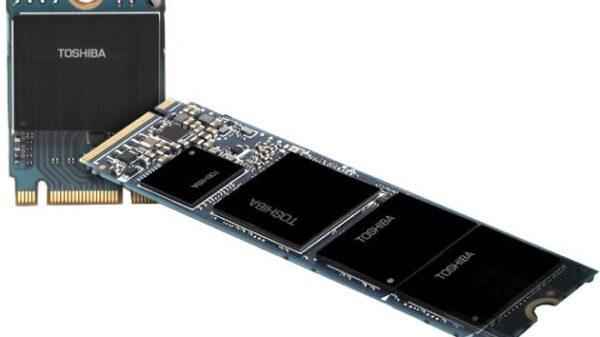 Toshiba BG1 NVMe SSD TLC 3D NAND 600
