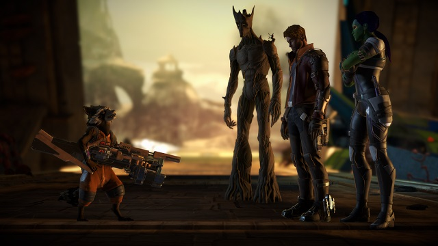 [Review] Guardians of the Galaxy: Telltale Episode 1 รวมพันธุ์นักสู้กู้จักรวาลกับตัวเกมคาดเดาง่ายเกินไปหน่อย
