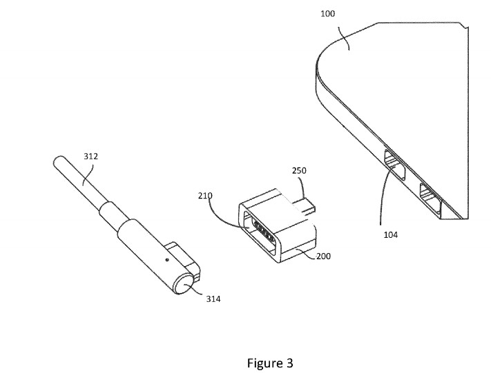 patent macsafe to USB C adaptor 600 02