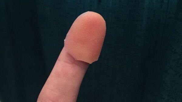 rubber fingerprint from CITER 600