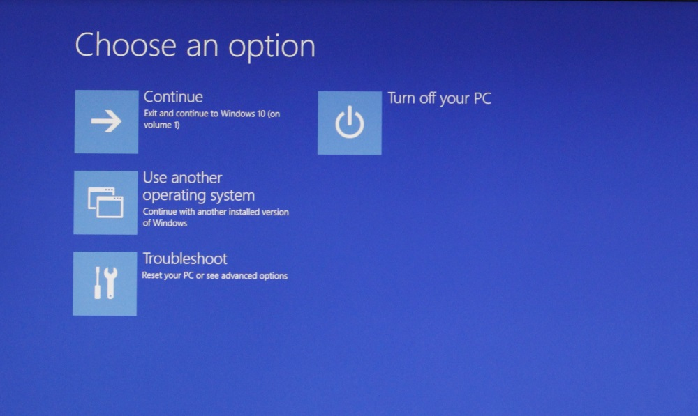 Automatic Recovery Windows 10 2