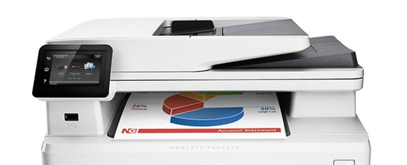 HP LaserJet Color Pro MFP M274n-9