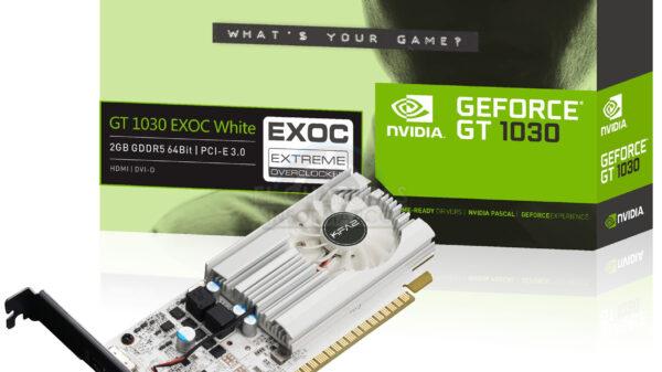 KFA2 GeForce GT 1030 EXOC White 600 01
