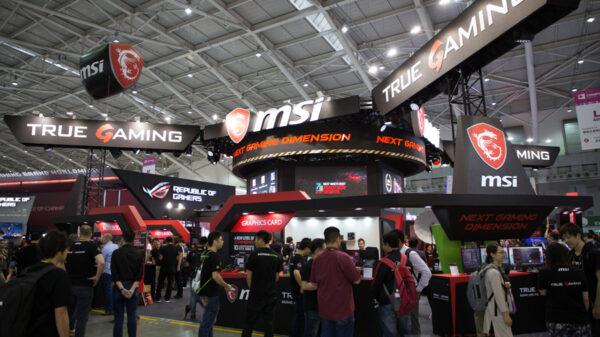 MSI Gaming Notebook Computex 2017 1