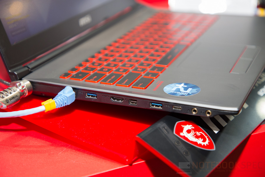 MSI Gaming Notebook Computex 2017 11