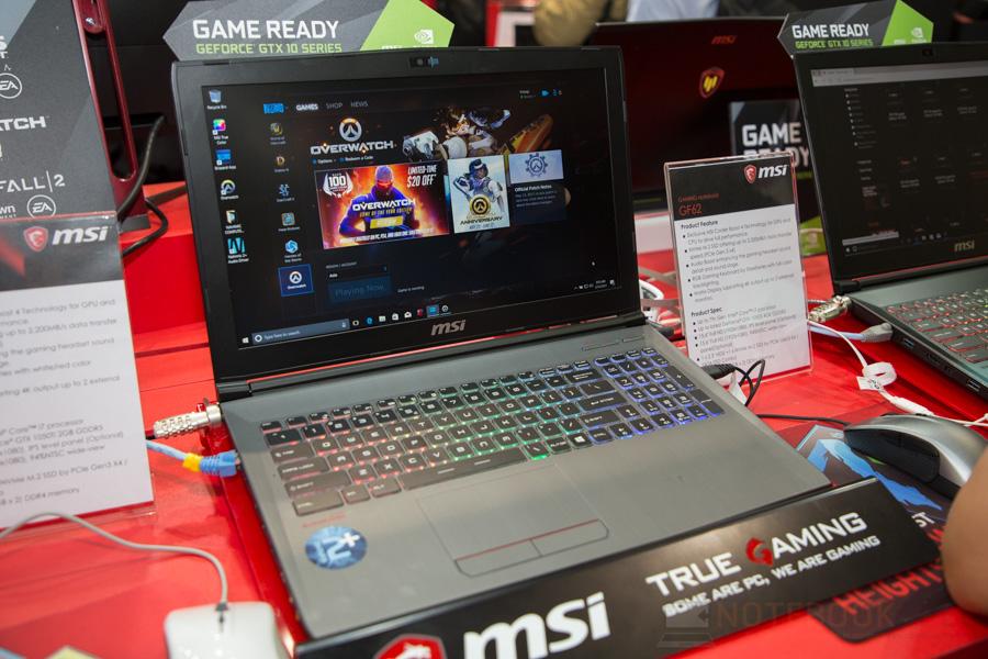 MSI Gaming Notebook Computex 2017 14