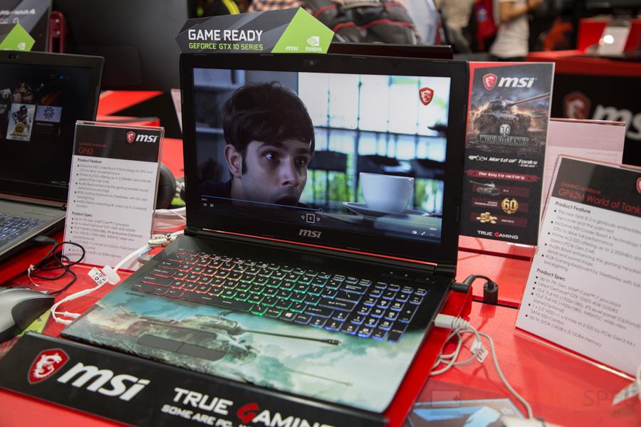 MSI Gaming Notebook Computex 2017 22