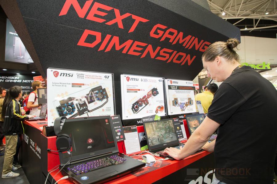 MSI Gaming Notebook Computex 2017 31
