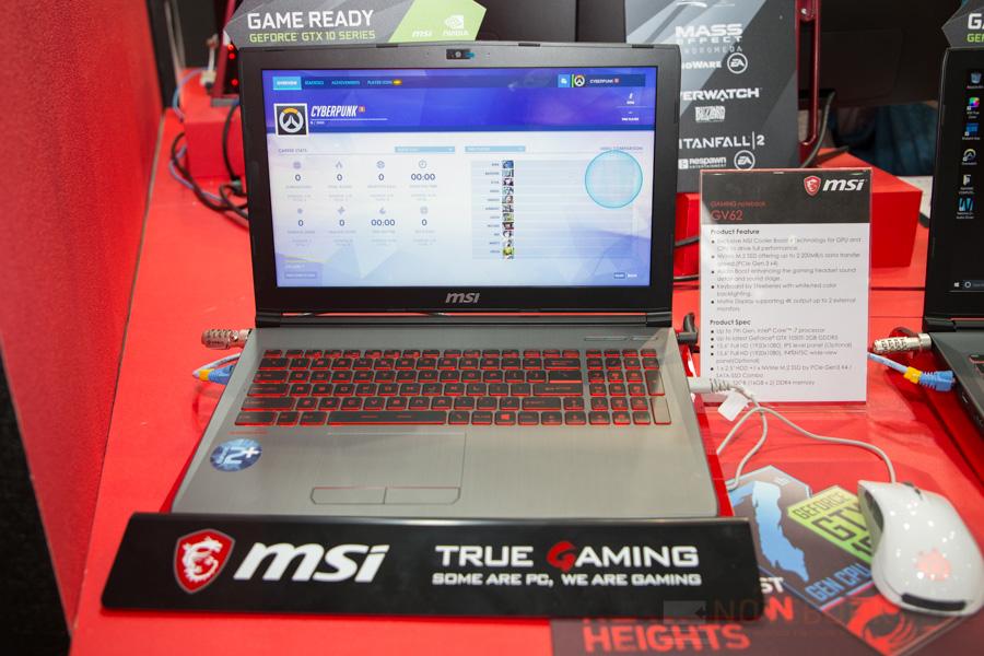 MSI Gaming Notebook Computex 2017 4