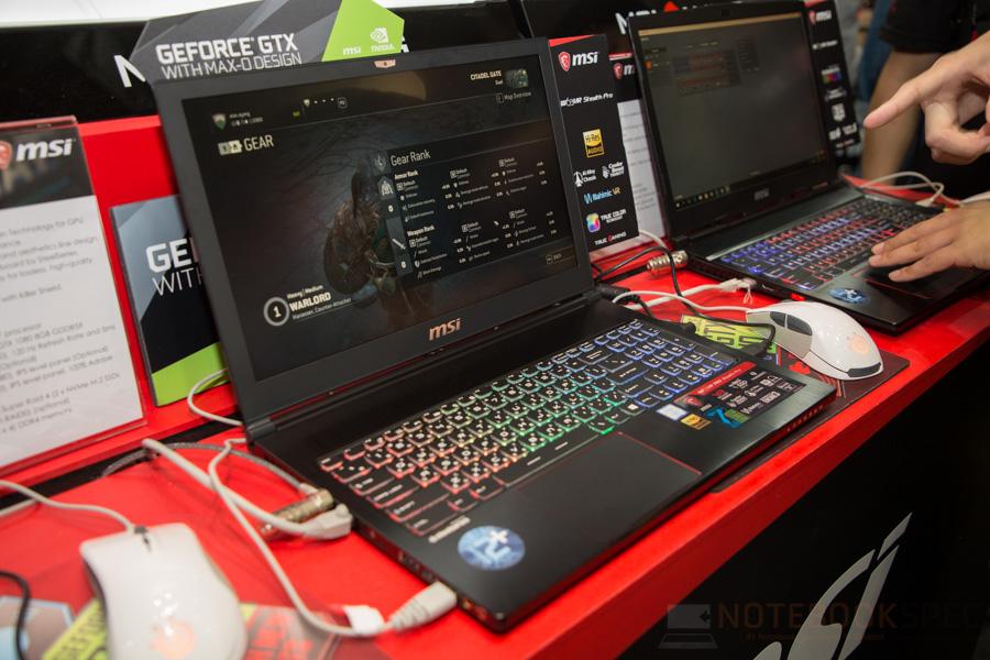 MSI Gaming Notebook Computex 2017 47